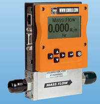 Mass flow meter / thermal / for gas / digital