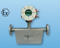 Mass flow meter / Coriolis / for liquids / in-line