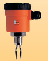 Vibrating level switch / for liquids / threaded