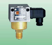 Liquid pressure switch / mechanical / bellows / stainless steel