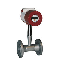 Vortex flow meter / for liquids / flange