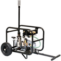 Air pump / manually-controlled / normal priming / for the construction industry