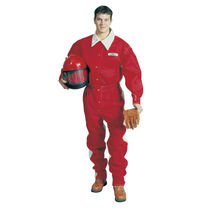 Work coveralls / nylon / cotton / for sandblasting