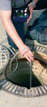 Water leak detector / portable / for pipelines