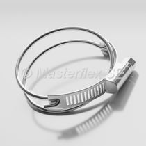 Stainless steel hose clamp / worm / wire / double