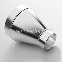 Socket fitting / hydraulic / sheet steel / galvanized steel