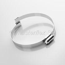 Steel hose clamp / screw / bridge / corrosion-proof