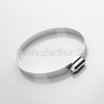 Galvanized steel hose clamp / worm / corrosion-proof / rugged