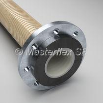 Hose flange / plastic / aluminum / through-hole