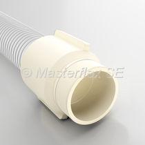 Screw-in fitting / straight / hydraulic / polyurethane