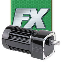 AC electric gearmotor / parallel-shaft / helical / 115 V
