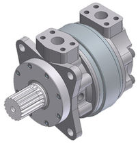 Hydraulic gear motor / fixed-displacement / high-pressure