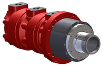 Gear hydraulic motor / for drilling