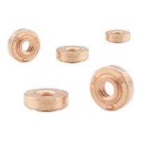 Weld-on nut / stainless steel / steel / load-bearing