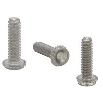 Crimp-on stud / steel / concealed-head