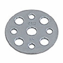 Stainless steel base plate / steel