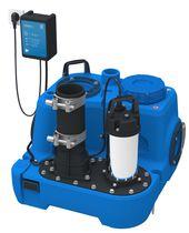 Compact sewage lifting unit / transportable