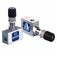 Needle valve / manual / metering / for air