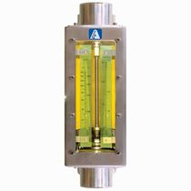 Variable-area flow meter / for air / for water / direct-reading