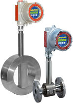 Vortex flow meter / for steam / for gas / for liquids