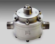 Oval gear flow meter / for oil / in-line
