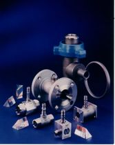 Turbine flow meter / for liquids / in-line / for marine applications