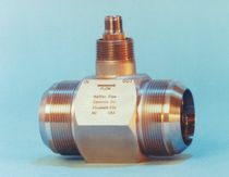 Turbine flow meter / for liquids / in-line