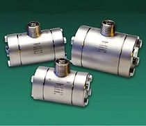 Turbine flow meter / for liquids / flange-mount / high-pressure