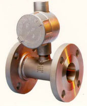 Turbine flow meter / for liquids / flange-mount