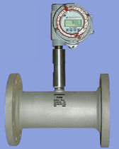 Turbine flow meter / for gas / in-line