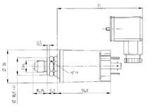 Relative pressure transmitter / absolute / piezoelectric / ceramic