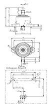 Relative pressure transmitter / absolut / piezoelectric / ceramic