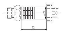 Relative pressure transmitter / piezoresistive / analog / digital