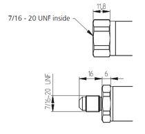 Relative pressure transmitter / membrane / analog / compact