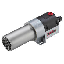 Stationary air heater / electric / with power electronics