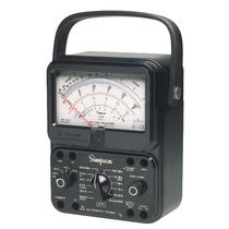 Analog multimeter / portable / rugged / high-precision