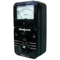 Analog ohmmeter / portable