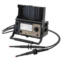 Insulation resistance tester / for high-voltage / battery / rugged