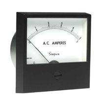 Current meter / analog / recessed
