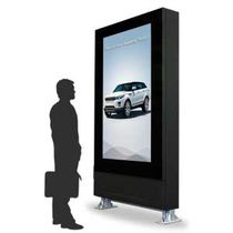 Advertising totem / for LCD screen