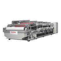 Horizontal filter / liquid / for solids / belt
