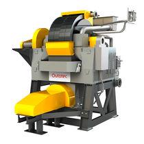 High-gradient magnetic separator / sludge / process / vertical