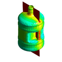 Fluid dynamics and thermal transfer simulation software