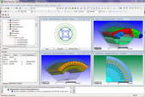 Electromagnetic field simulation software / 3D / 2D