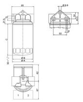 Hydraulic filter / basket / compact / suction