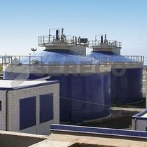 Sludge treatment digester