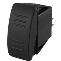 Rocker switch / single-pole / LED-illuminated / panel-mount