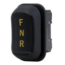 Rocker switch / single-pole / panel-mount / compact