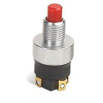 Single-pole push-button switch / electromechanical / momentary / subminiature