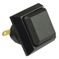 Spring push-button switch / single-pole / sealed / double break